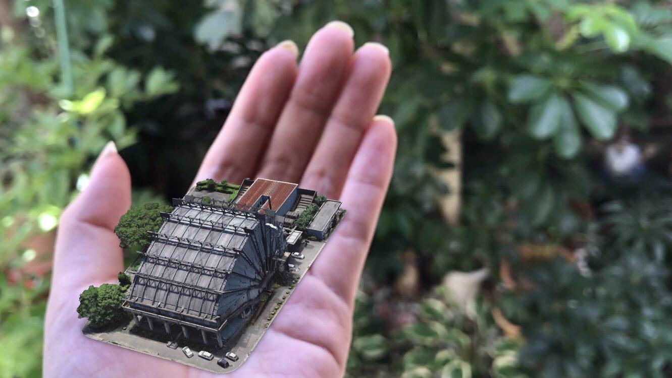 3D Digital Archive – Miyakonojo Civic Center 画像