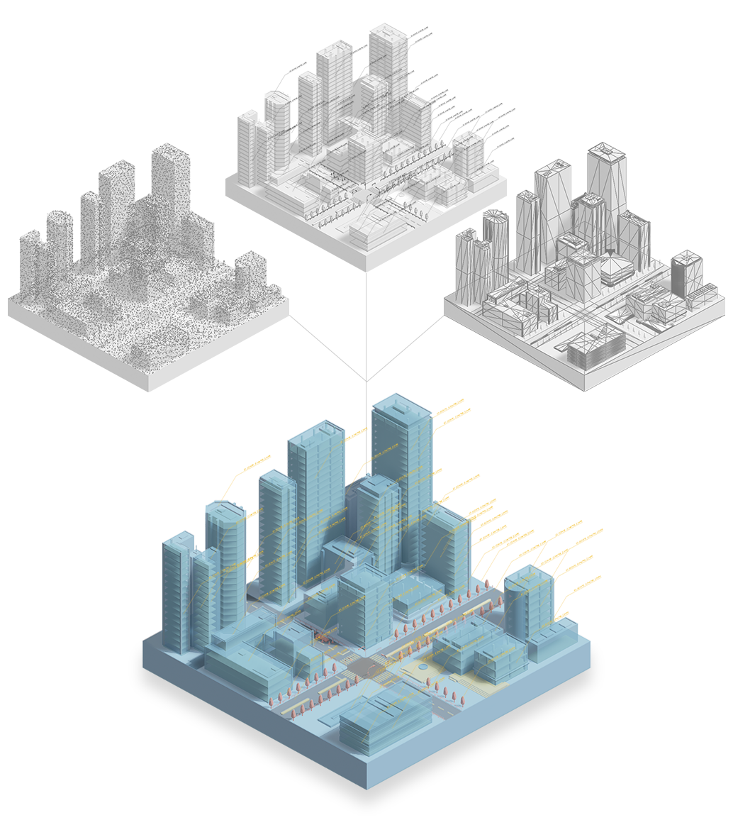 Digitalization of architecture and cities 画像